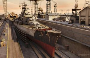 The Bismarck by uoa7