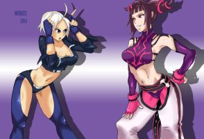 Angel Vs Juri by morris1611