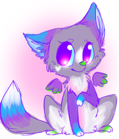 Cherry Flavored Fox by Kitzophrenic