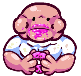 Yummy Donut (click for GIF) by therossen
