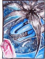 (ACEO) Smile by PurpleWish23