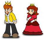 King Richard and Queen Lillian: my version by mrbill6ishere