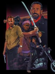 The Walking Dead by amherman
