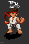Ryu Chibi by rakintorworld