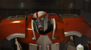 TFP Ratchet confused by Galaxywarriess1234
