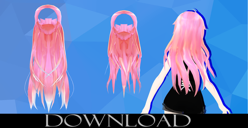 MMD Hair Edit Dl by MMDMMiki