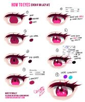 How to Eyes (Even if ur lazy Af) by Chiinyan