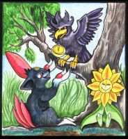 PokeFable: Murkrow and Sneasel