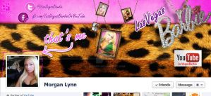 Las Vegas Barbie Facebook Cover Photo by iamspix