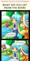 What did you get from river by christon-clivef