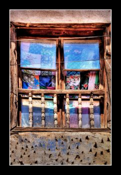 window with patchworks by chirkhef