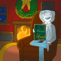 A Christmas Carol With Charles O Dickens by ChloeCorp