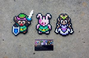 Link to the Past - LoZ Perler Bead Sprites by MaddogsCreations