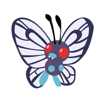 Butterfree illustration by DickensMr