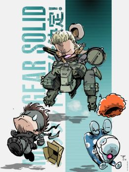 An Art A Day #57 Metal Gear Solid Rodeo by tachi-tachi