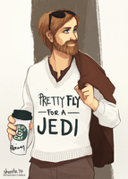 star wars - pretty fly for a jedi by shorelle