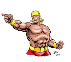 The Hulkster by Simon-Williams-Art