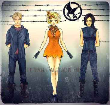 The Hunger Games by Purple-Meow
