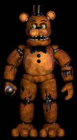 Withered Freddy V16 by Delirious411