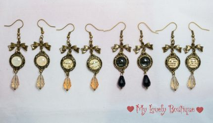Vintage Teardrops by TheLovelyBoutique
