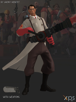 Medic - Team Fortress 2 (Blue and Red) by JhonyHebert