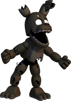Adventure Dark Springtrap by toasted912