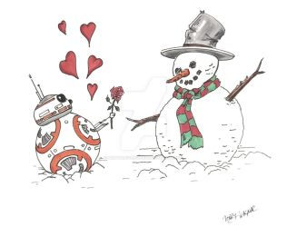 Snow Love Here by mentaldiversions