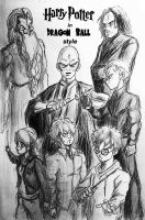 Harry Potter In Dragon Ball Style by Born-to-be-MCG