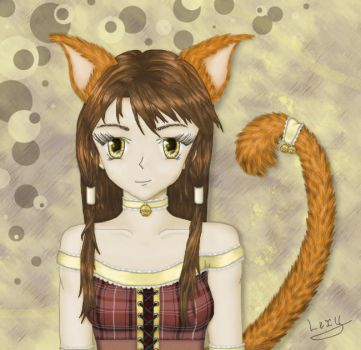 Nice neko_Photoshop by Madness-Of-Eclipse