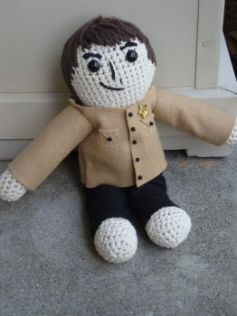 Shea Stadium George Plush by LadyFoxtails