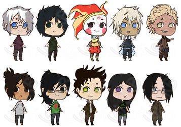 A bunch of cheebs by risky