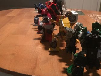CW Rescue Zords 2 by bigtimbears