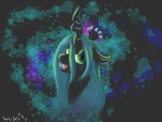 Queen Chrysalis by tilitoom