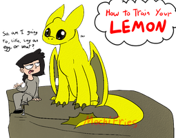 How To Train Your Lemon by MochiFries