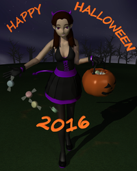 Happy Halloween 2016 by Cirevam