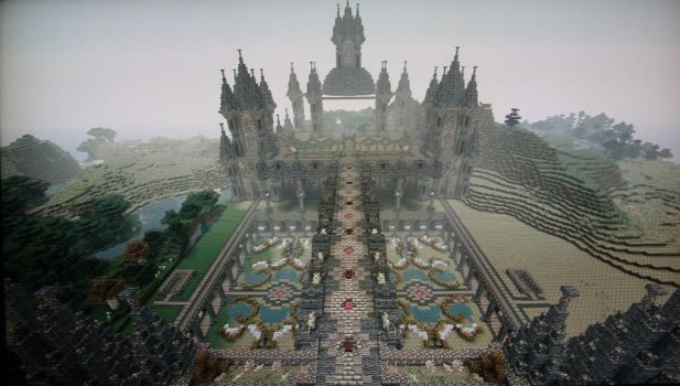 update on palace by Pix3lMin3r