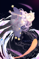 (speedpaint) Hacuubii's draw my oc contest by Rainry