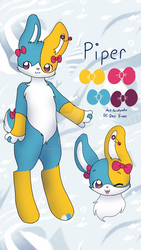 Ref commission for Desi Vines by paintyneko