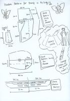 Hanbok pattern for sewing by seawaterwitch