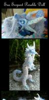 Sea Serpent Posable Doll by Eviecats