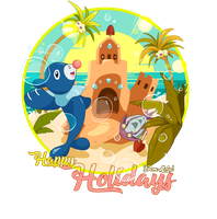 Alolan Refreshing Summer - Tee-shirt design
