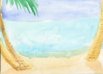 Beach by NicoleMAbrahamson