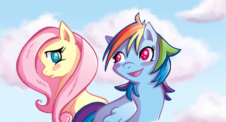 Dancing on Air Banner Art by Butterscotch25