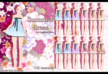 Summer dress by Angelica-Lime