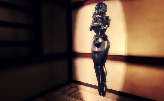 Trapped Latex Object by lexberchot