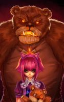 Have you seen my bear Tibbers? by RattlePool
