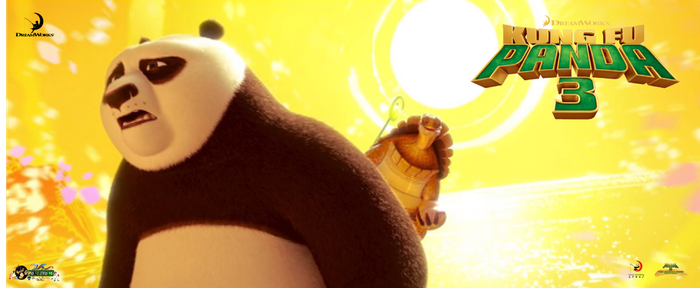 Kung Fu panda 3-my poster- master Oogway-Po by pollito15