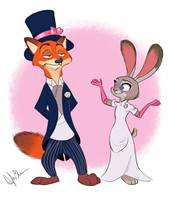 Zootopia - Easter Parade by DylanBonner