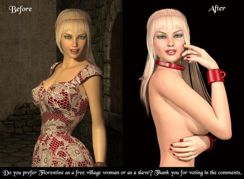 Florentine before or after : please vote ! by horpheu