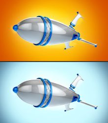 3D Rocket by maxspider